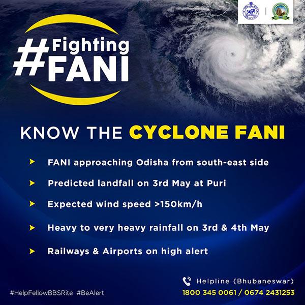 Cyclone FANI Alert